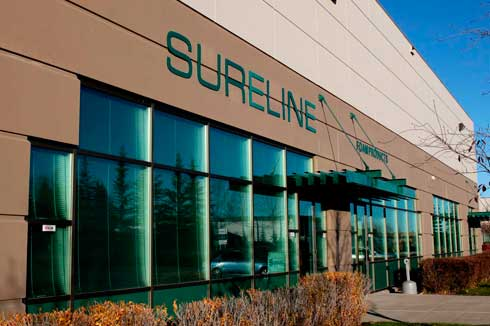 Sureline Foam Products, located in Calgary, AB